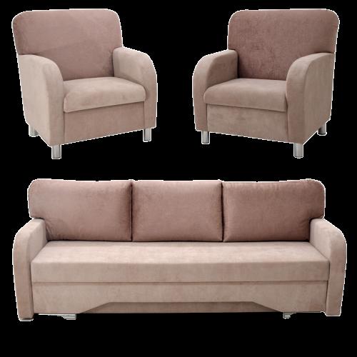 sofa+2foteliai